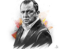 Fatih Terim Illustration