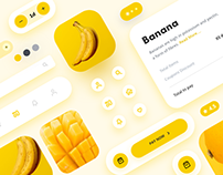 Grocery App Concept Design - Set 3