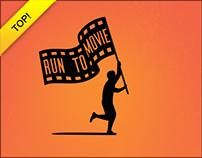 Run To Movie | Logo Design, Branding, Webdesign