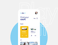 Playout - Court Booking App | UI/UX
