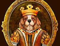 Royal Earth Pets' Blend ( Royal dog Character Design )