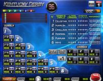 Horse Race Gambling - Game User Interface