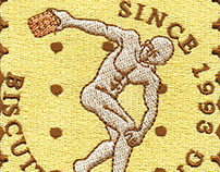 INSIGNIA (Embroidery Patch) - Biscuits Thrower