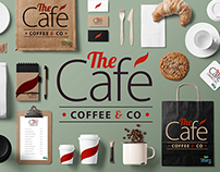 The Cafe - Coffee & Co - Branding