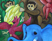 The Jungle Painting