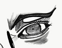 Eye drawe
