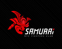 NYC Fight club business logo design. Дизайн логотипа