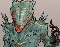 Concept Art: Mushroom Alien