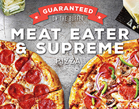 Cicis Meat Eater & Supreme Pizza Guarantee