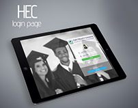 HEC - Student Forum Login Page