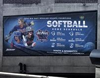 DePaul Softball Fullerton Banner