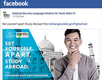 Youth Study Abroad Programs - Facebook Ads