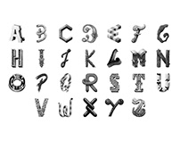 Alphabet Lettering Collection Vol.4
