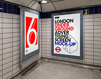 London Underground Ad Screen Mock-Ups 11