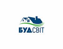 Logo for a construction portal БудСвіт