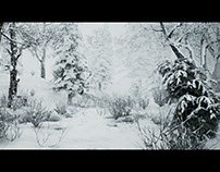 Unreal Engine 4 Snowfall