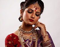 Moonmi Talukdar - Hair Style & Jewellery Shoot