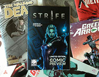 S2 Games' Strife Comic Book