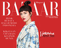 Harper's Bazaar Indonesia Sept'15