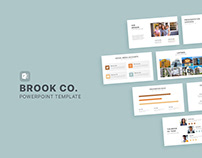 Brook Co. Real Estate PowerPoint Template