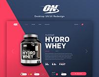 Optimum Nutrition Web Site