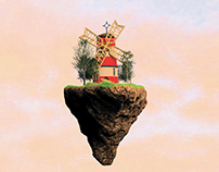 3D Model - Gorillaz windmill