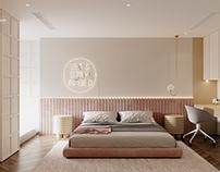 Bedroom 1  Sunshine Apartmentby K-Render Studio
