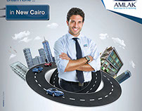 Amlak Real Estate - Rounder Ad