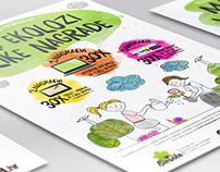 Eco school contest poster