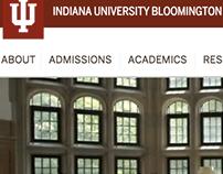Indiana University Bloomington Website (indiana.edu)