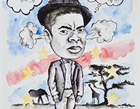 Illustration -  Caricatured Portrait (2016)