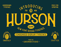 FREE | Hurson Rough Typeface