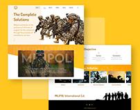 Home Page, MiliPOL