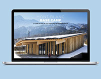 Mont Blanc Base Camp website