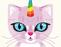 Illustration: Unicorn Cat
