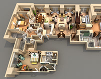 Kenneth Massey: Custom 3D Assets for Hotel Industry