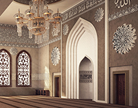 El Rayan Mosque Interior Design