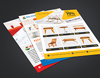 Real Estate / Furniture Sales Flyer Template