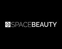 Logotipo e Site Space Beauty