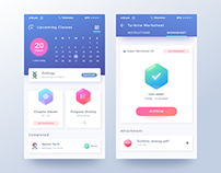 Mobile App for Student Activities- UI UX Design