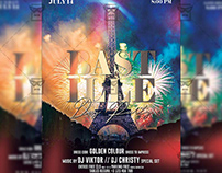 Bastille Day Party - Club A5 Template