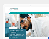 Pharmalucence. Web Design.