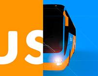 3D Bus model for inBus.ua