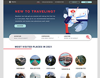 Wayfarer's Website and App Design