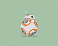 BB-8 Star Wars Animation