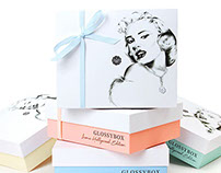 Glossybox packaging illustration