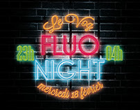 Fluo Night Poster