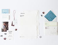 KAHA handcrafted goods visual identification