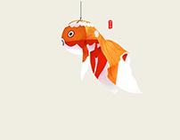 I love fish Handicraft