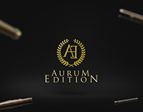 logo for Aurum Edition